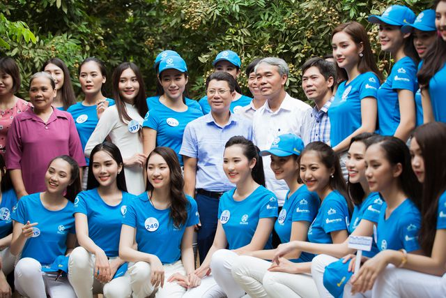 Hoa hậu Đỗ Mỹ Linh cùng dàn người đẹp Miss World Vietnam hội tụ ở xứ nhã