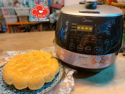 美的Midea MYSS50HK 4.8公升全自動智能高速鍋 - 原味麵包 食譜
