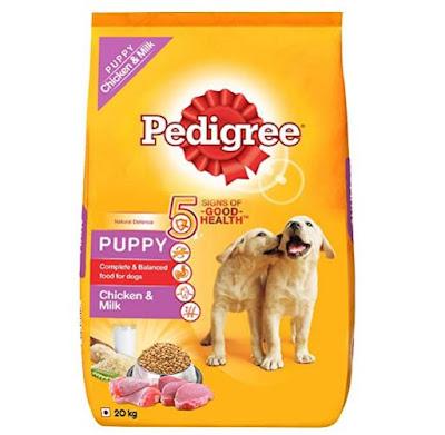 Pedigree Puppy Dry Dog Food Chicken And Milk 20kg Pack