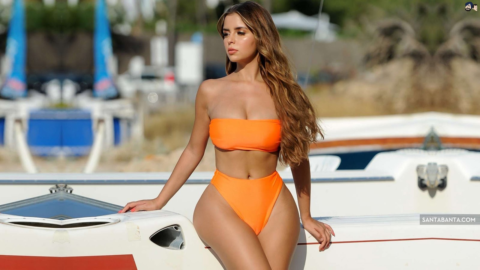 Demi Rose Mawby Sexy Bikini HD Wallpaper