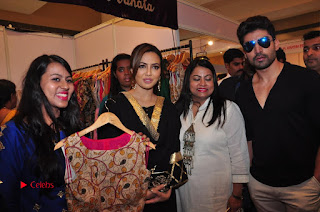Bollywood Actress Sana Khan Launches Aakrithi Exibition  0321.JPG