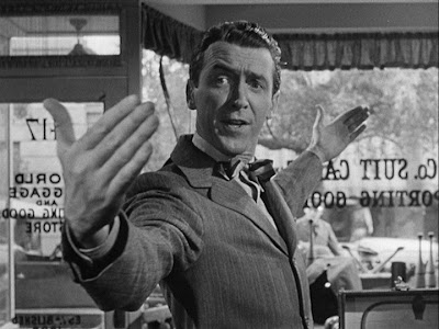 Jimmy Stewart Its a Wonderful Life 1946 movieloversreviews.filminspector.com