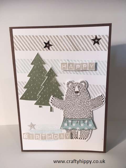 Bear Hugs stamp set, Stampin' Up!
