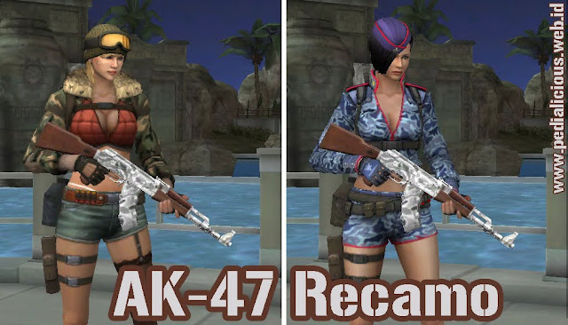 Preview Senjata No Rules AK-47 Recamo Point Blank Zepetto Indonesia