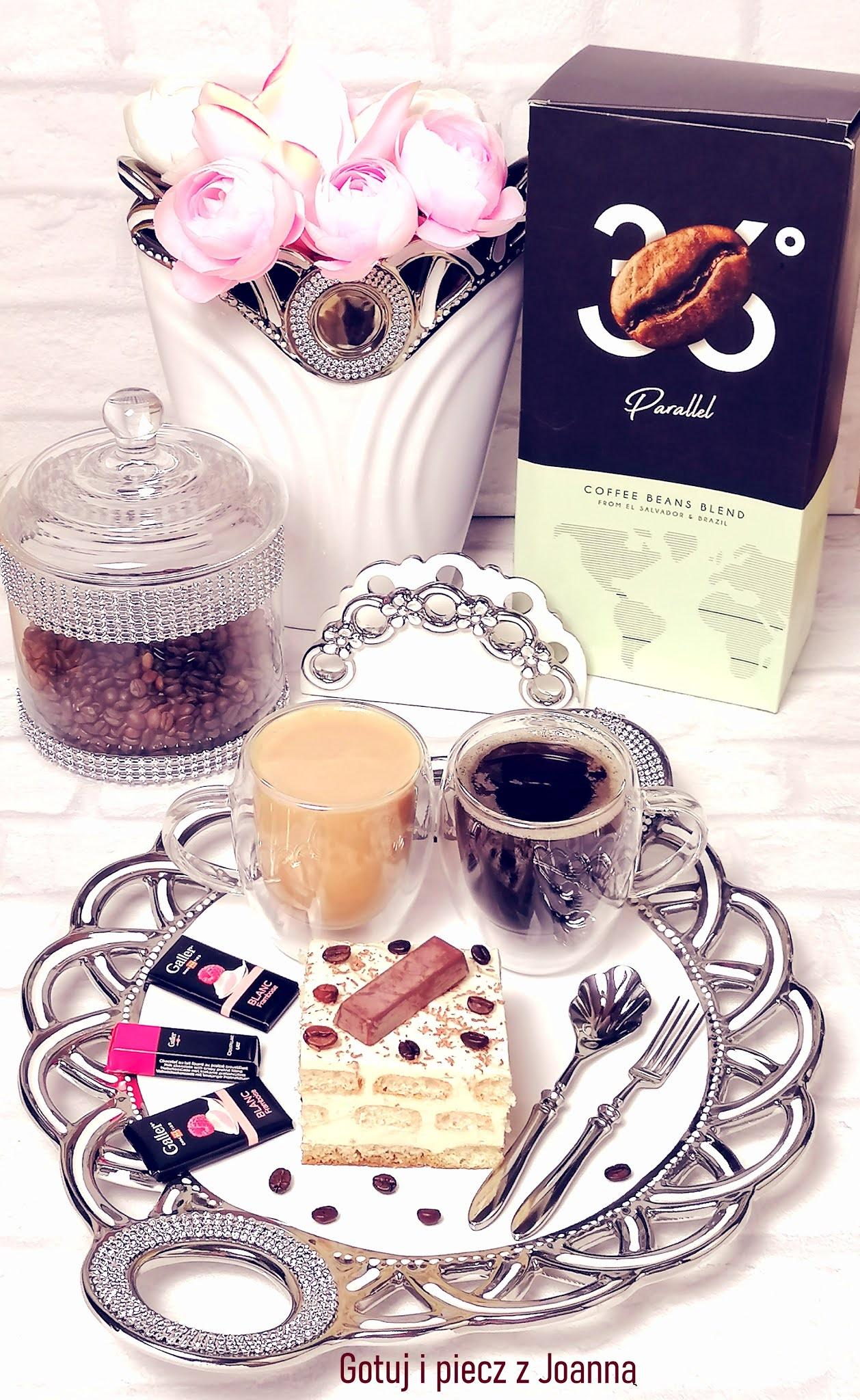 """Delicja kawowa z kawą Parallel """" 36 - Przyjaciele Kawy"""