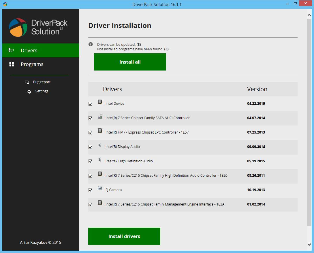 اسطوانة التعاريف العملاقة DriverPack Solution dc2.png