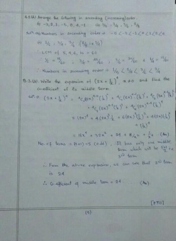 Free IGNOU (BPP) OMT-101 Solved Math Assignment ( Section A ...