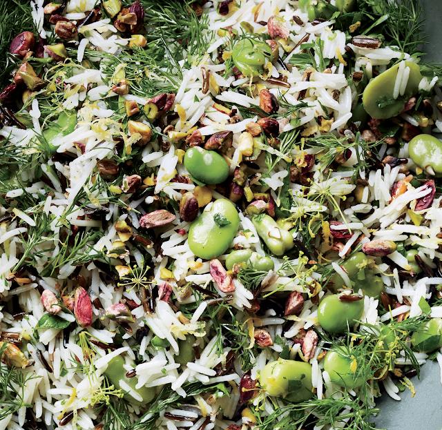 How to Make Wild Rice Broad Bean and Garlic Salad