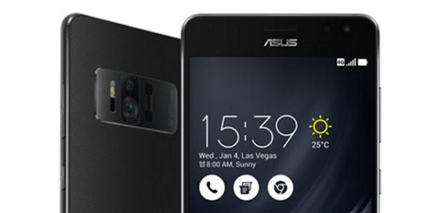 CES 2017: Asus ZenFone AR – smartphone đầu tiên hỗ trợ Google Tango AR