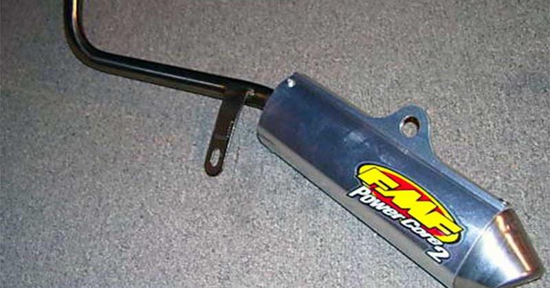 yamaha blaster exhaust fmf yamaha old