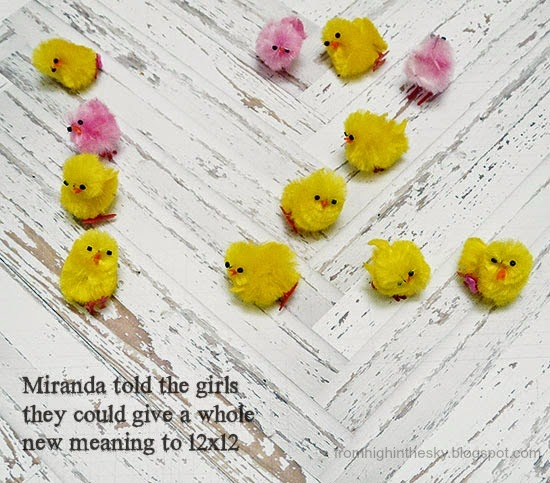 From High in the Sky: chicks scrapbook