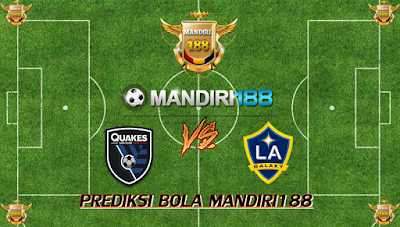 AGEN BOLA - Prediksi San Jose Earthquakes vs LA Galaxy 11 Juli 2017