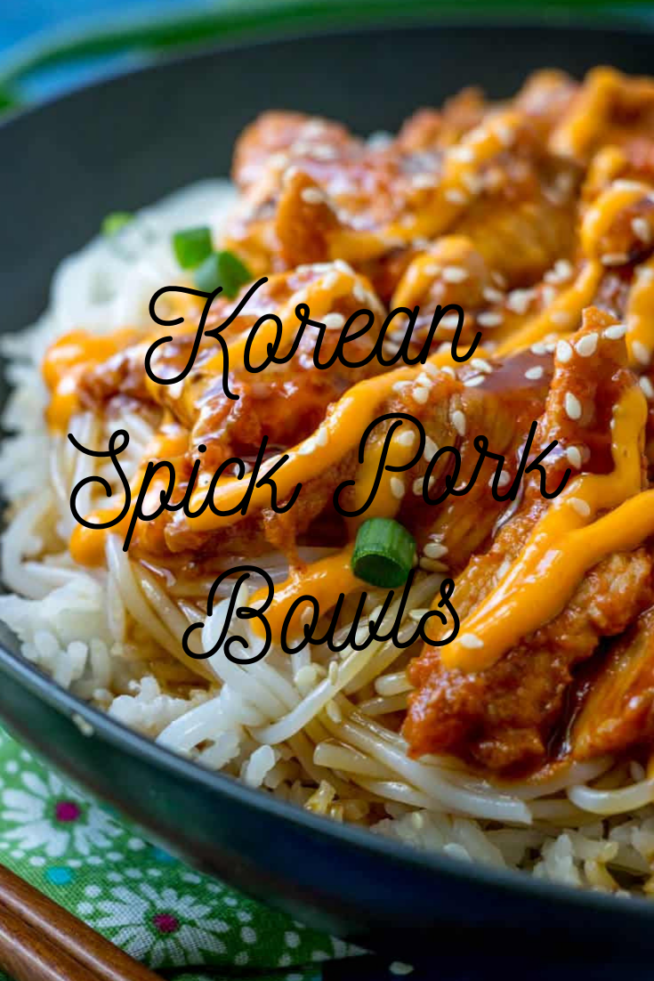 #KOREAN #SPICY #PORK #BOWLS #Dinner #Easyrecipe