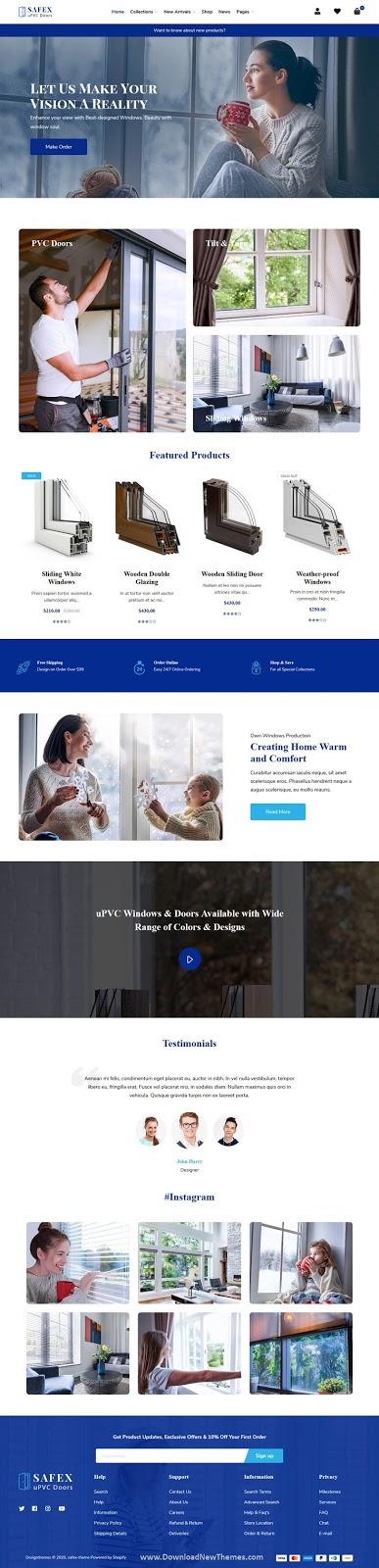 Interior Design Shopify Theme