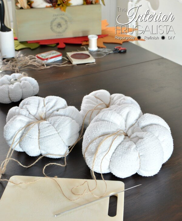 Fall Craft Idea With Sweaters