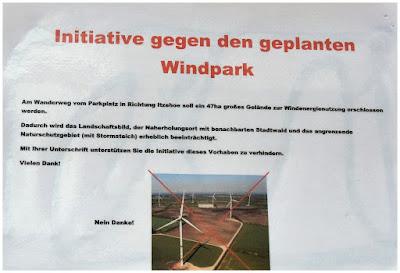 Windpark nein Danke