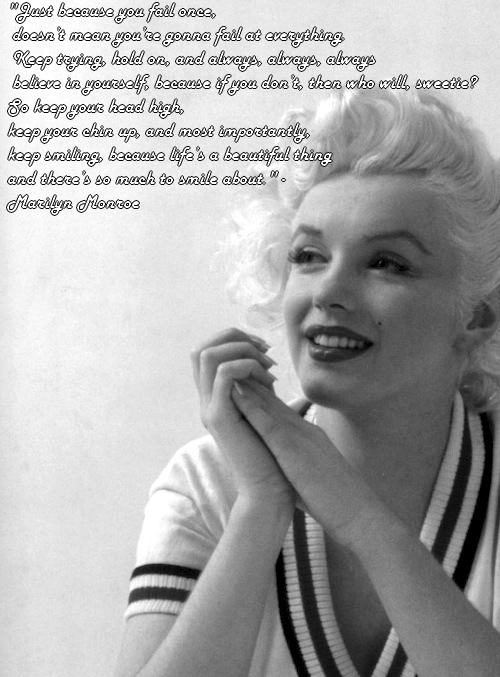 Famous Marilyn Monroe Quotes About Love: CRAZIEECATLADY: Quotes By Marilyn Monroe :] [:
