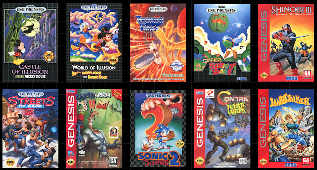 Sega Genesis Mini Games List