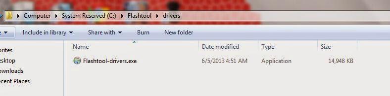 Cara Install Dan Kegunaan Flashtool Untuk Xperia Device 6