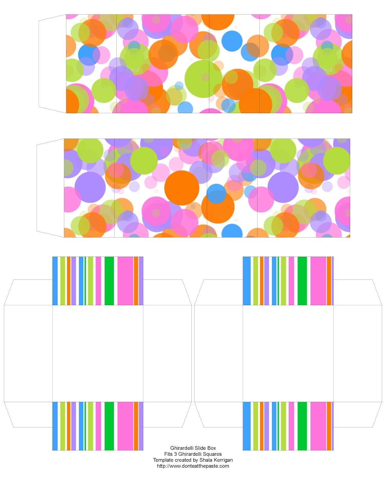 Color Slides Of New York City April 1979: Don't Eat The Paste: Spring Color Slide Box- Ghirardelli