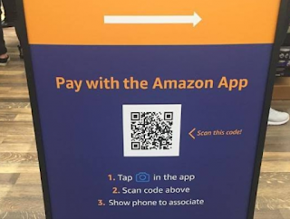 Amazon scan and pay