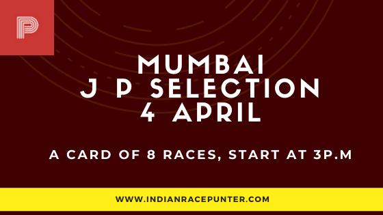 Mumbai Jackpot Selections 4 April