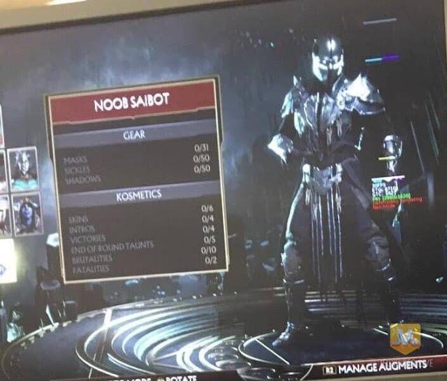 تسريب قائمة جميع الشخصيات الحاضرة خلال لعبة Mortal Kombat 11 عن طريق مجموعة من الصور