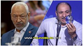 (بالفيديو) محسن بالعيفة البلورة تؤكد على تعرض راشد الغنوشي لجلطة في الايام القادمة.... و معركة بين رجل أعمال