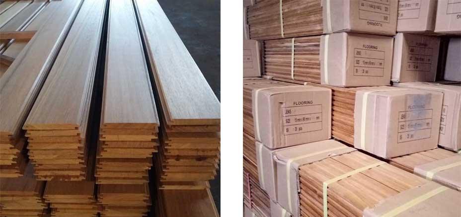 packaging lantai kayu