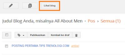 Cara Membuat Blog dengan Platform Blogger