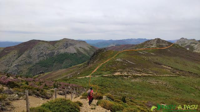 Bajando del Pico Amargones