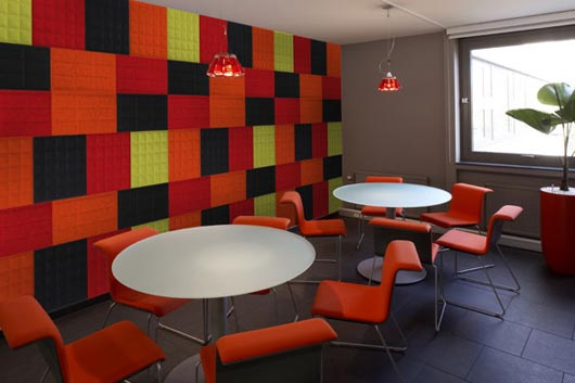decorar O Tile 3D colorida