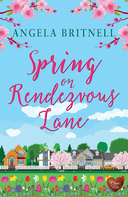 Spring on Rendezvous Lane by Angela Britnell book cover