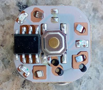Fidget Spinner PCB