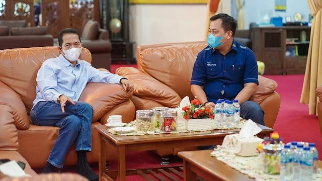 Saling Tukar Pikiran, Bupati Lingga Terima Kunjungan Wakil Walikota Batam