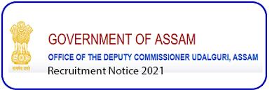 DC Office Udalguri Recruitment 2021 for JA Post