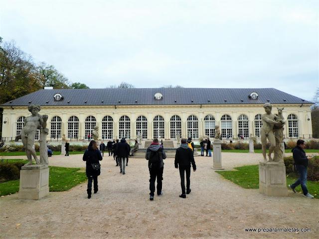 que ver en Varsovia, Parque Real Lazienki.
