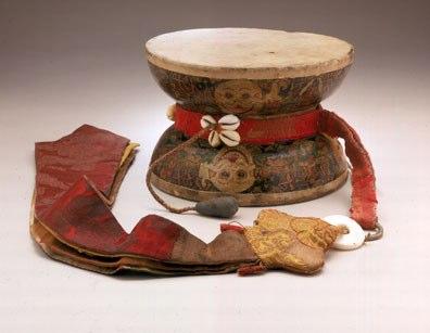 musical instrument: Damaru