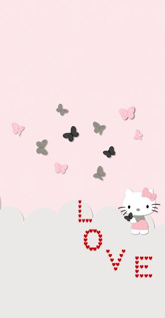 girly iphone wallpaper love heart iphone wallpaper