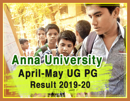 Anna University UG/PG Exams 2019-20
