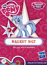 My Little Pony Wave 16B Magnet Bolt Blind Bag Card
