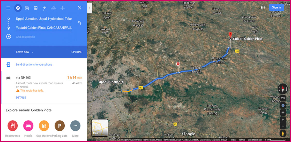 Google Maps satellite images-1