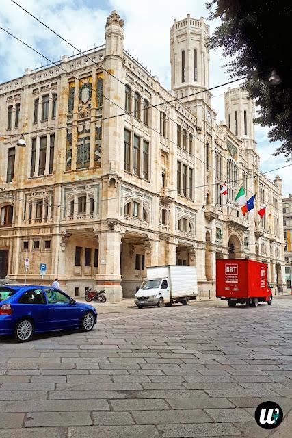 Palazzo Civico Town Hall, Cagliari | Sardinia, Italy | wayamaya