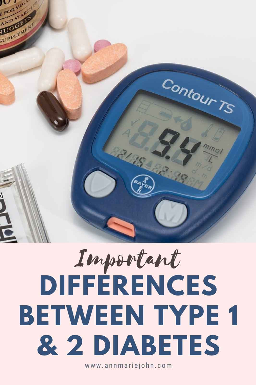 The Important Differences Between Diabetes Type 1 and 2