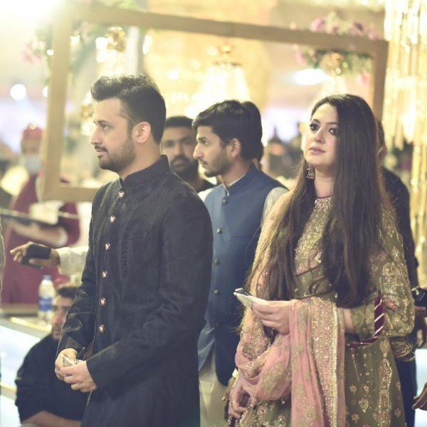 Atif Aslam wife