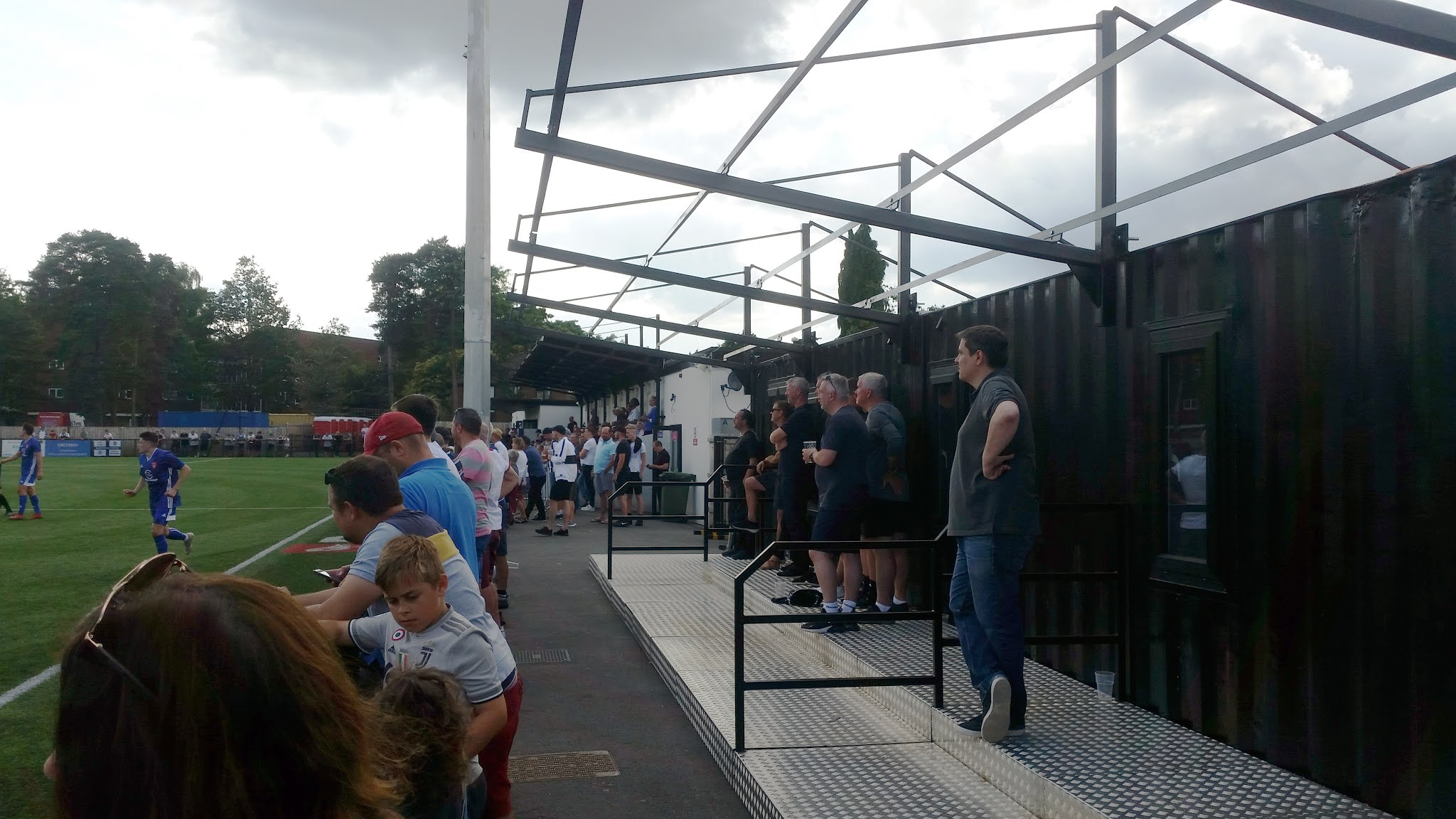 Stands at Larges Lane