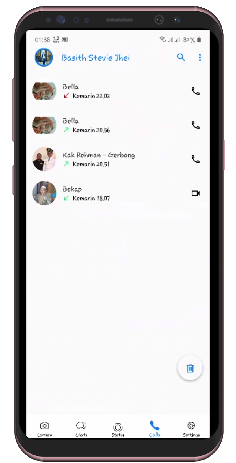 Download Tema WhatsApp Aero Iphone IOS 13 Terbaru 2020 ...