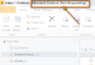 Outlook Not Responding – 2007, 2010, 2016, 2015 Windows 10
