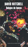 Portada de Relojes de hueso de David Mitchell