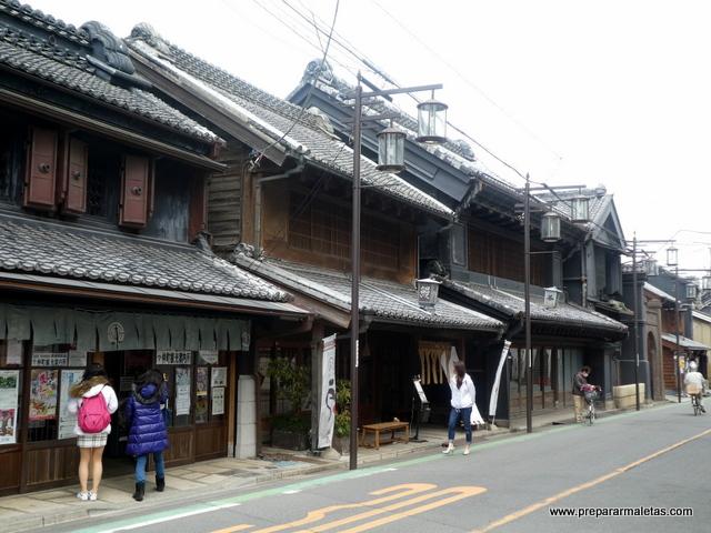 calle principal de Kawagoe, Japón